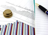 Grafici di affari 2 — Foto Stock