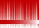 Rode fading zakelijke afbeelding — Stockvector
