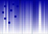 線形フェード 2 ブルーします。 — ストックベクタ