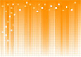 Orange Fading Business Graphic — Vector de stock