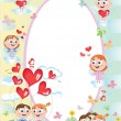 Royalty-Free Stock Vector Image: Child frame