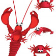 Shrimp — Stock Vector