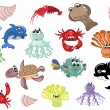 Royalty-Free Stock Vector Image: Sea animals