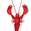 Stock Vector: Lobster