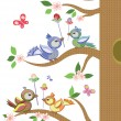 Royalty-Free Stock ベクターイメージ: Easter birds
