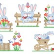 Easter icons — Stock Vector #5123648