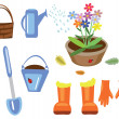Stock Photo: Agriculture icons