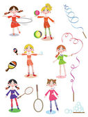 Sport Kids Collection — Stock Vector