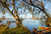 Boats resting place — Stock Photo