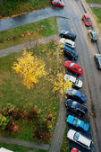 Cars parking — Stockfoto