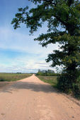 Gravel road — Stock Photo