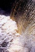 Průtok vody rybníka — Stock fotografie