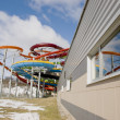 Stock Photo: Water park pipes