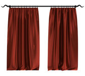 Atlas curtains — Stock Photo