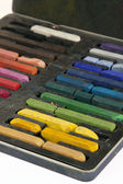 Rainbow Chalk — Stock Photo