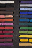 Color Chalk Line — Stock Photo
