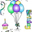 Stock Photo: Birthday Clip Art