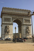 Arco do triunfo paris — Fotografia Stock