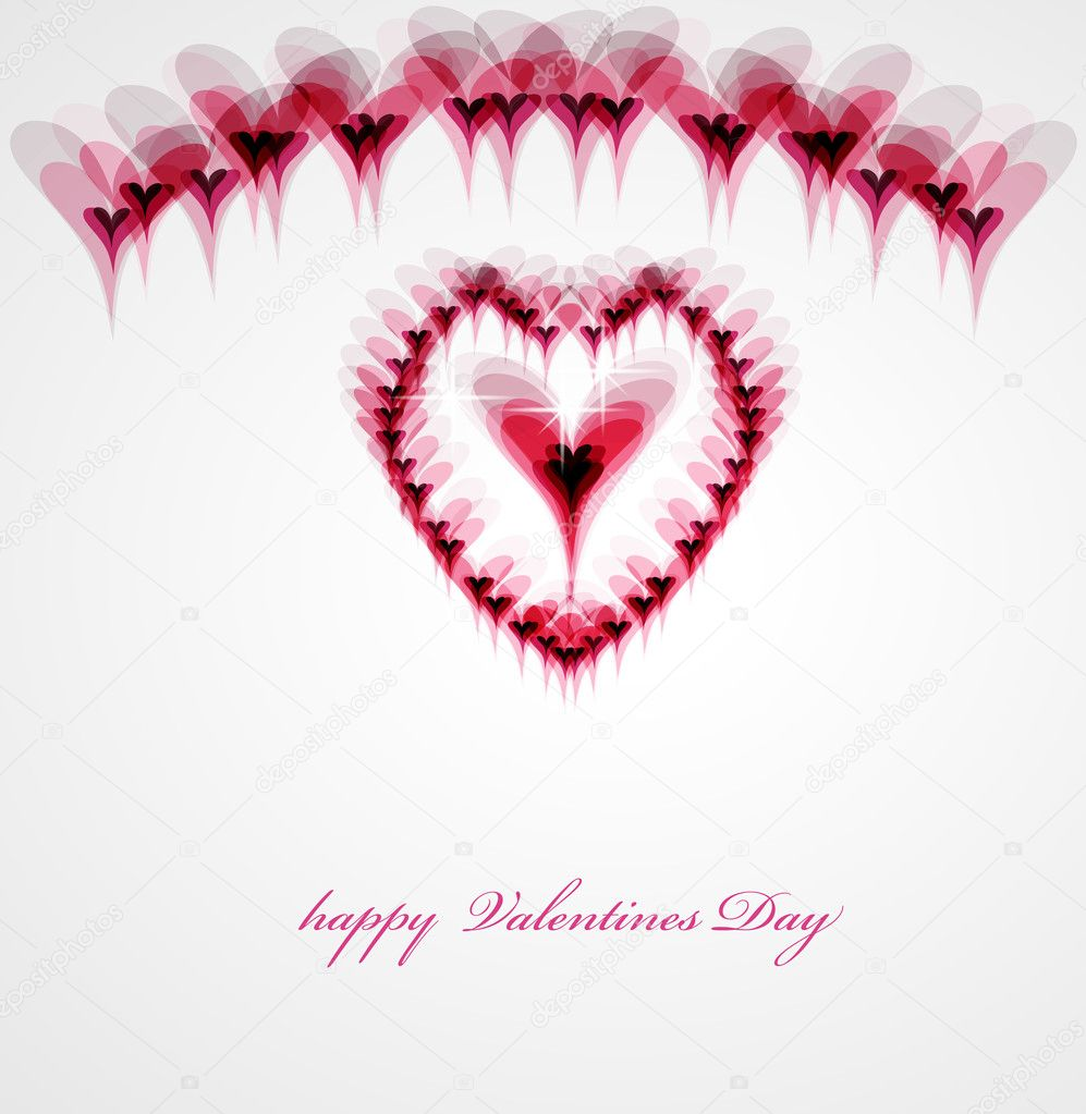Valentine background, eps10  Stock Vector #4849434