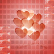Valentine background — Stockvector  #4882509