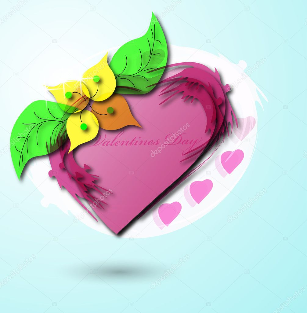 Valentine background, eps10 — Stock Vector #4902586