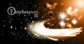Star Meteorites — Stock Vector