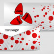 Vector de stock : Message