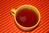 A cup of hot tea — Stock Photo
