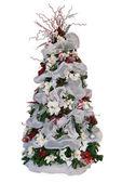 Christmas tree isolated — Stock Photo