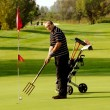 Funny Golfer — Stock Photo #5243258