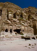 Petra in Jordan - city carved out of the rock — Stock Photo