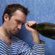 Stock Photo: Last drop of wine