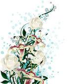 Bridal bouquet — Stock Vector