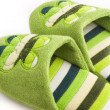 Royalty-Free Stock Photo: Green slippers