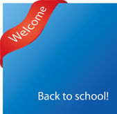 Back to school! — Stock Vector
