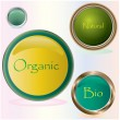 Bio buttons — Stock Vector #4942823