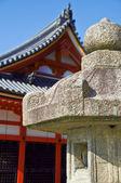 Lanterne temple japonais — Photo