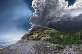 Stormy cloud — Stock Photo