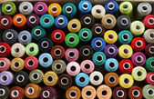Spools of threads — Stock Photo