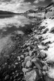 Drammatica vista panoramica invernale. — Foto Stock