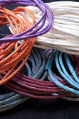 Coiled paper craft twists. — Stock Photo