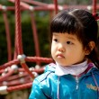 Royalty-Free Stock Photo: Korean girl in the park.