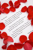 A love letter for Valentines day. — Foto Stock