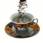 Preparing instant coffee — Stock Photo