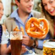 Inn or pub in Bavaria - Stock Photo