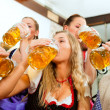 Stock Photo: Inn or pub in Bavaria