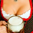 Stock Photo: In Bavarian Tracht