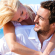 Couple in love - Caucasian man -  