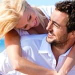 Couple in love - Caucasian man — Stock Photo