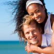 Couple in love - bikini-clad — Stock Photo #5022817